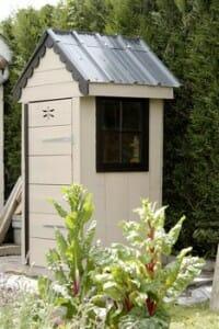 construire une armoire de jardin en bois