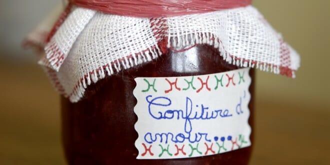 recette confiture fraises rhubarbe
