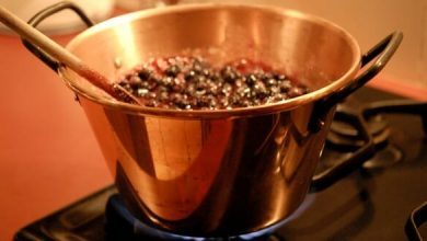 recette confiture de myrtilles