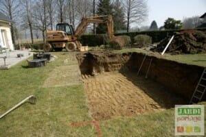 faire creuser piscine
