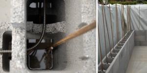 ferraillage bloc a bancher