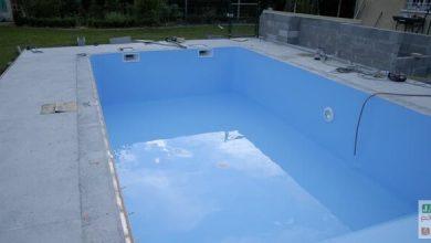 Photo of Le liner de la piscine