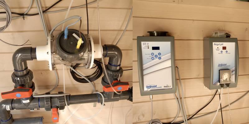 raccordement electrolyseur piscine
