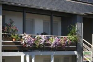 fleurir un balcon