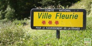 label ville fleurie de france