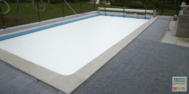installation volet de piscine