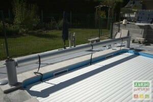 installation volet roulant piscine
