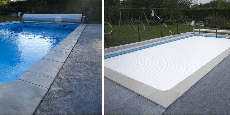 installer volet piscine