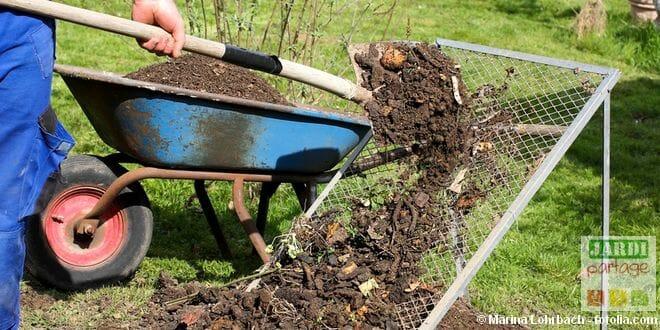 Compost pour jardin bio