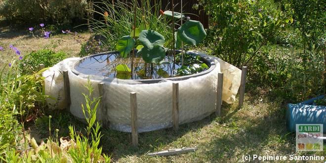 Protéger bassin en hiver