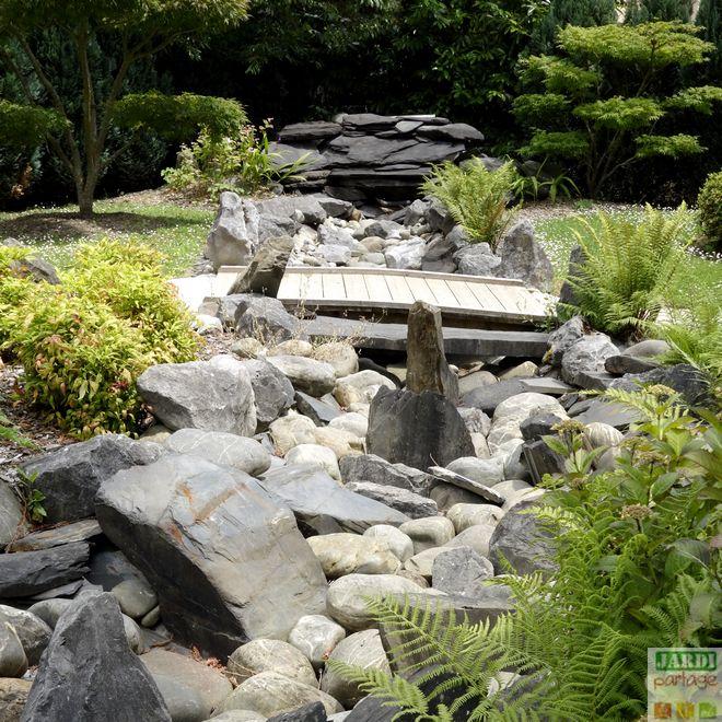composition d'un jardin japonais
