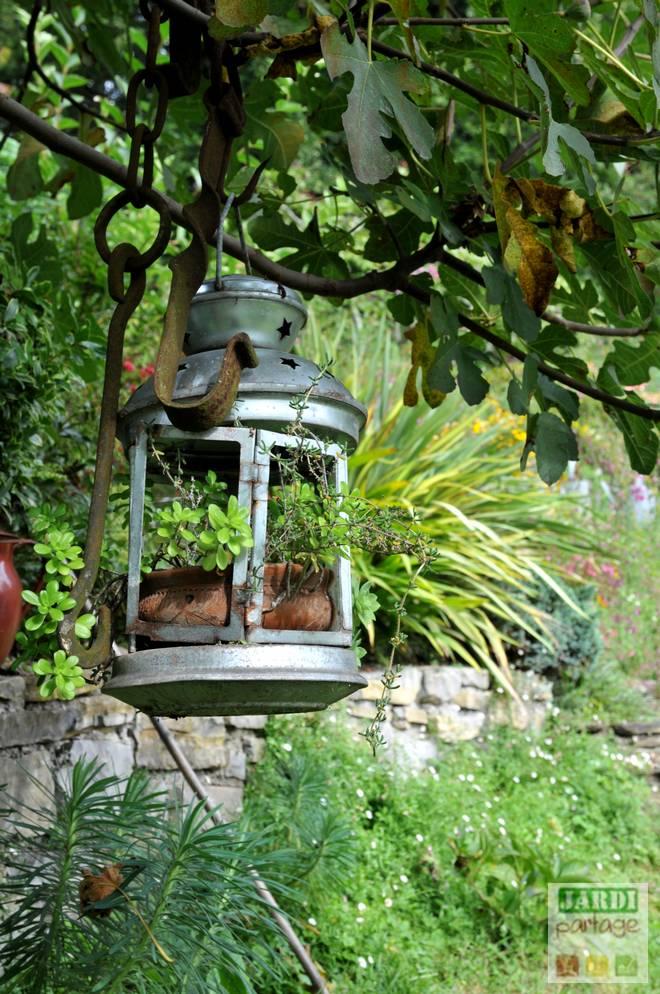 7 id es de d co de jardin avec de la recup jardipartage - Idee deco de jardin ...