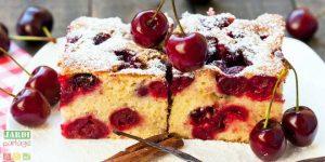 cake aux cerises