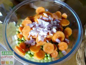 recette petit pois frais carotte