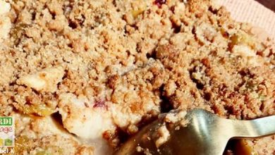 Photo of Crumble aux mirabelles