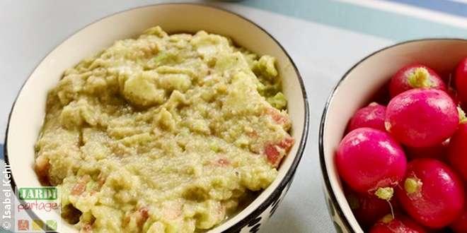 Photo of Rillettes de courgettes façon guacamole