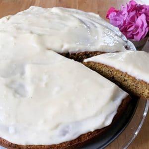 Carrot cake glacage
