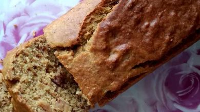 Photo de Banana Bread Sans Gluten à la farine de riz