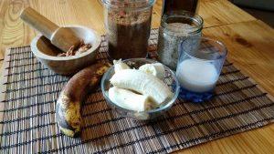banana bread sans gluten sans lactose sans sucre