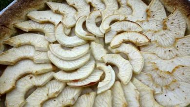 tarte aux pommes pate brisee