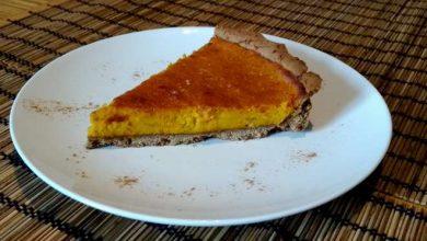 Photo of Tarte au potimarron sucrée et sans gluten