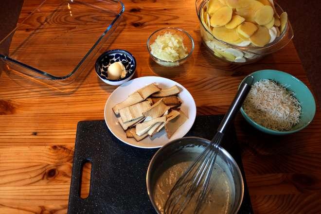 recette gratin panais pomme de terre