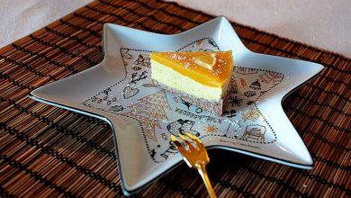 Photo of Cheesecake à la mangue et gelée d'orange