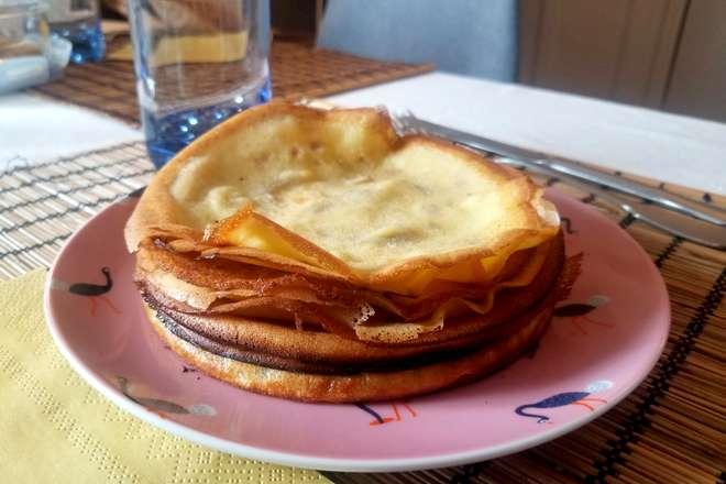 crepes sans gluten sans lactose