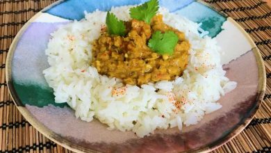 dhal lentilles corail coco curry