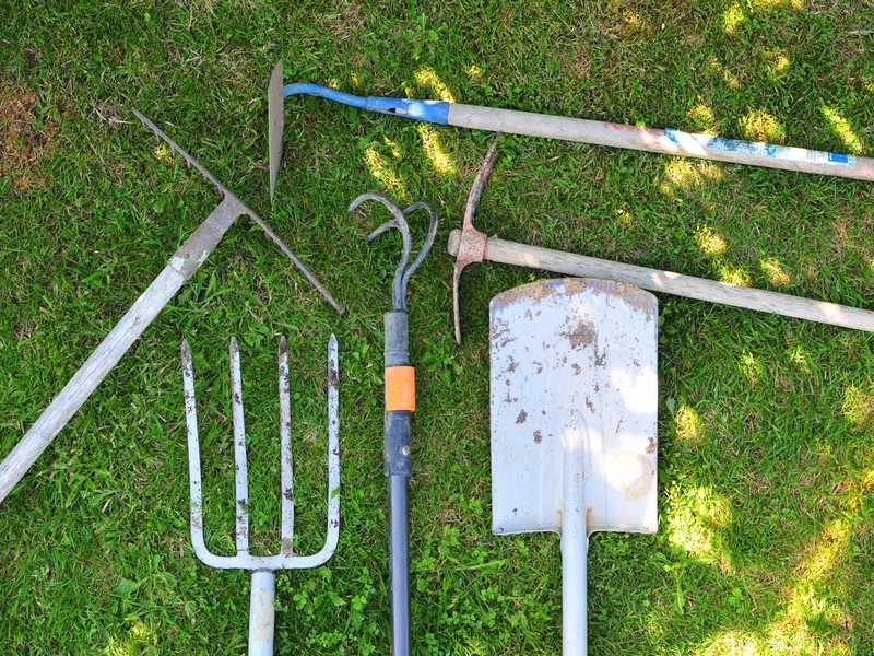 liste outils potager