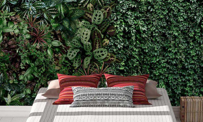 poster mural jardin