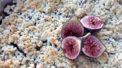 Photo de Crumble Aux Pommes et Figues Violettes