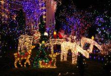 Photo de 9 idées lumineuses de déco de Noël au jardin