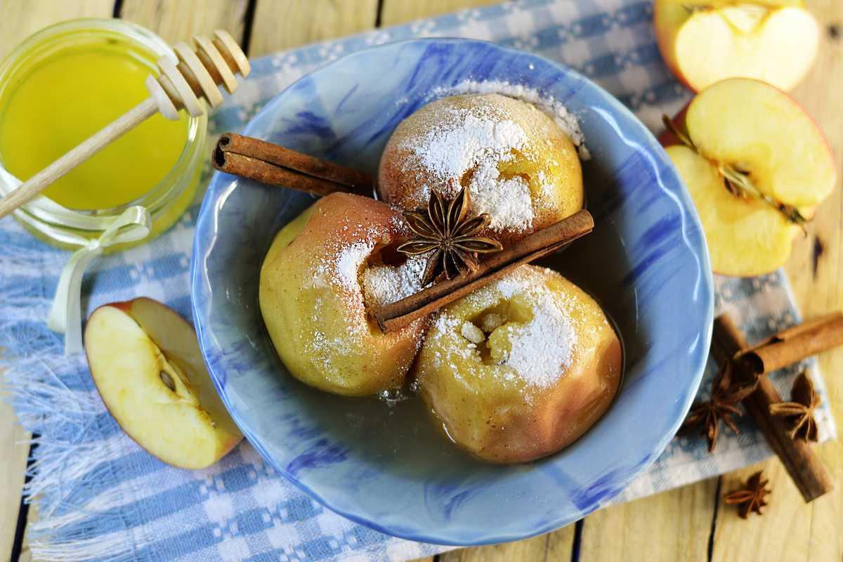 pomme au four cannelle