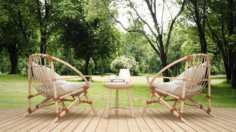 mobilier de jardin haut de gamme contemporain