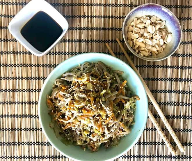 recette pad thai végétarien