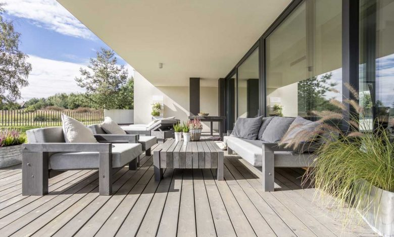 mobilier de jardin PEFC