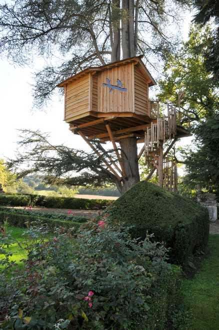 fabriquer cabane dans les arbres