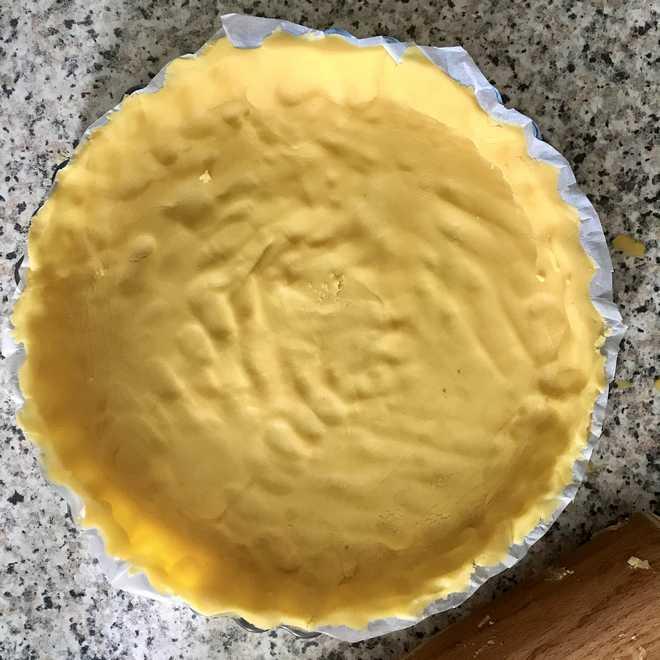 recette de la tarte aux framboises amande