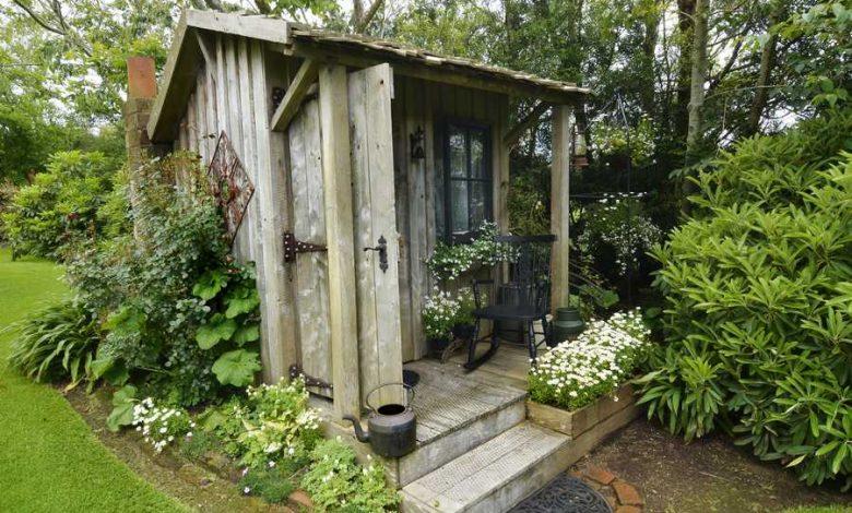utiliser une cabane de jardin autrement
