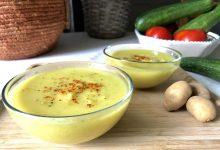 soupe de courgettes au curry